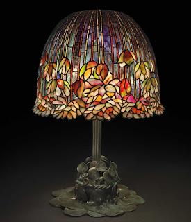 Lámpara Pond  Lily  de Tiffany