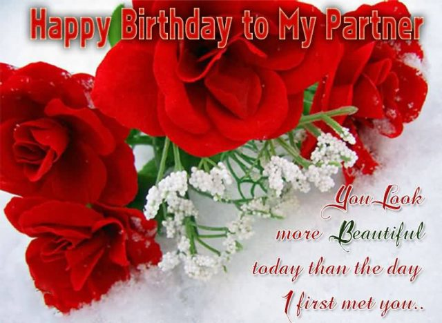 Birthday Wishes for Wife and roses with Images