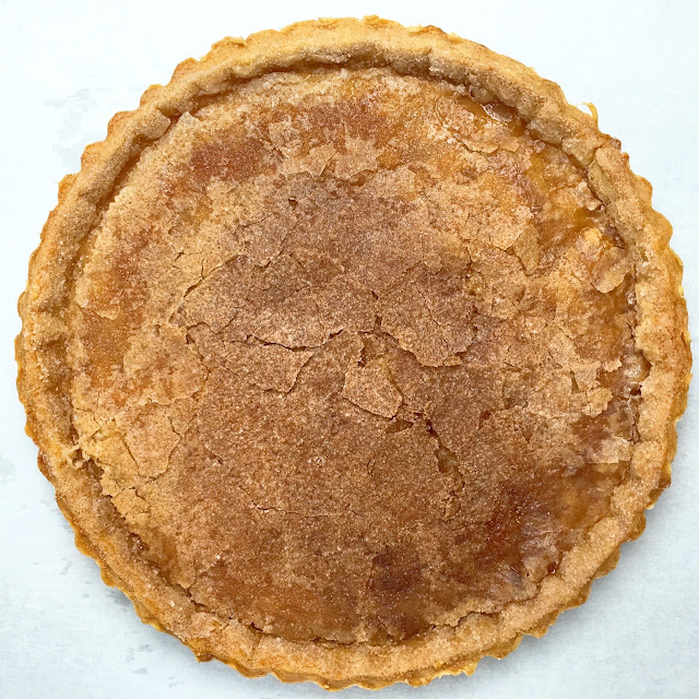 Blind Baked Snickerdoodle Sour Cream Pie Crust