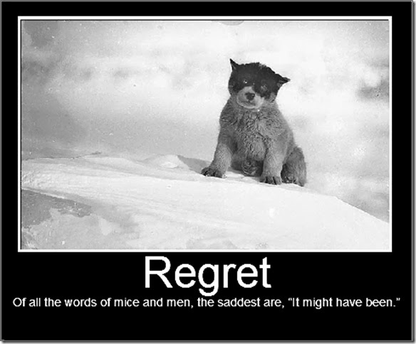 Have I Done Do Wen I Dont Regret Regret Had Things I Things Chance I I Didnt