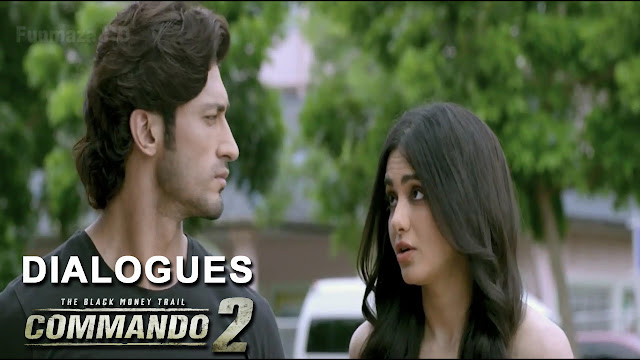 Commando 2 Movie Hit Dialouge: Vidyut Jammwal