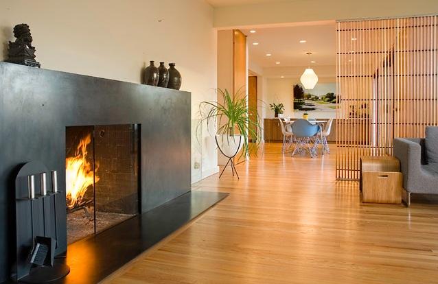 تصاميم و ديكورات فواصل خشبية لتقسيم وتجميل مساحات المنزل