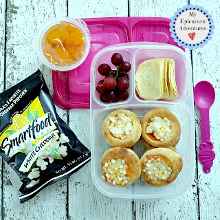 Lunch box fun with mini frozen pizzas. SO easy and they always get gobbled up. In our @easylunchboxes #lunchboxideas