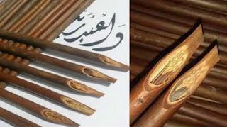 Pena Kaligrafi Khat Kalam Handam