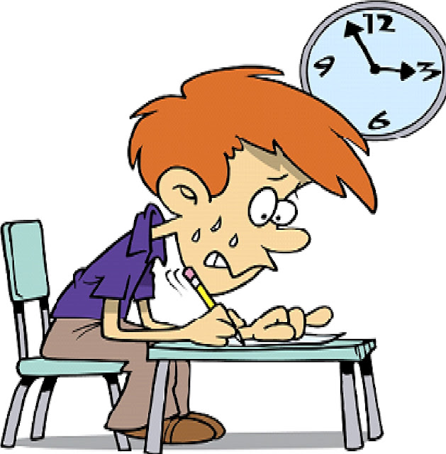 قلق الامتحان