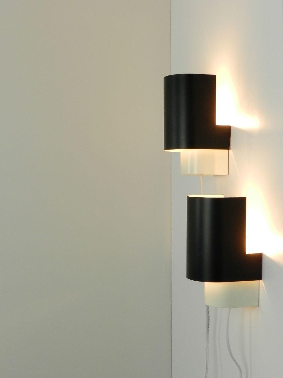 zig zag: JJM Hoogervorst Wall Lamps - sold