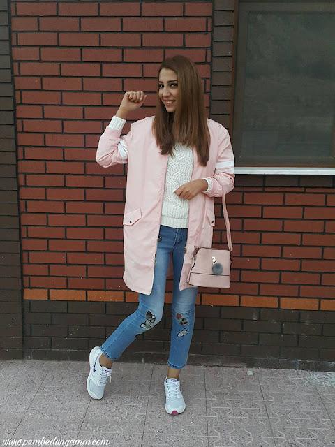 uzun bomber ceket
