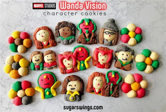 Marvel WandaVision Cookies