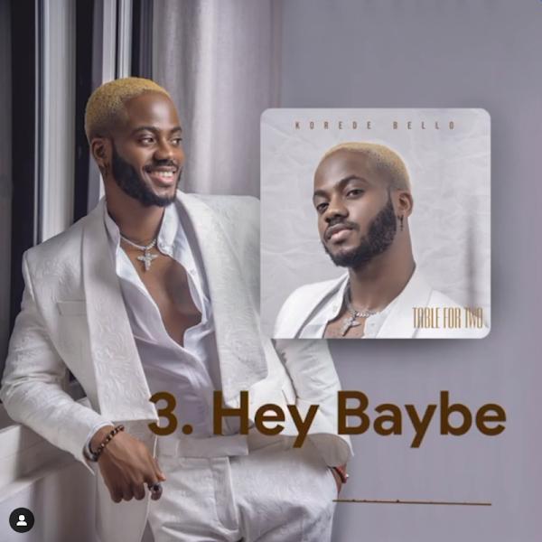 "[Lyrics] Korede Bello – ""Hey Baybe"""