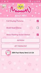 BBM Mod Pink By Puci Mumu V3.0.1.25 Apk