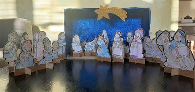 Pessebre de Nadal de l'Aviparc