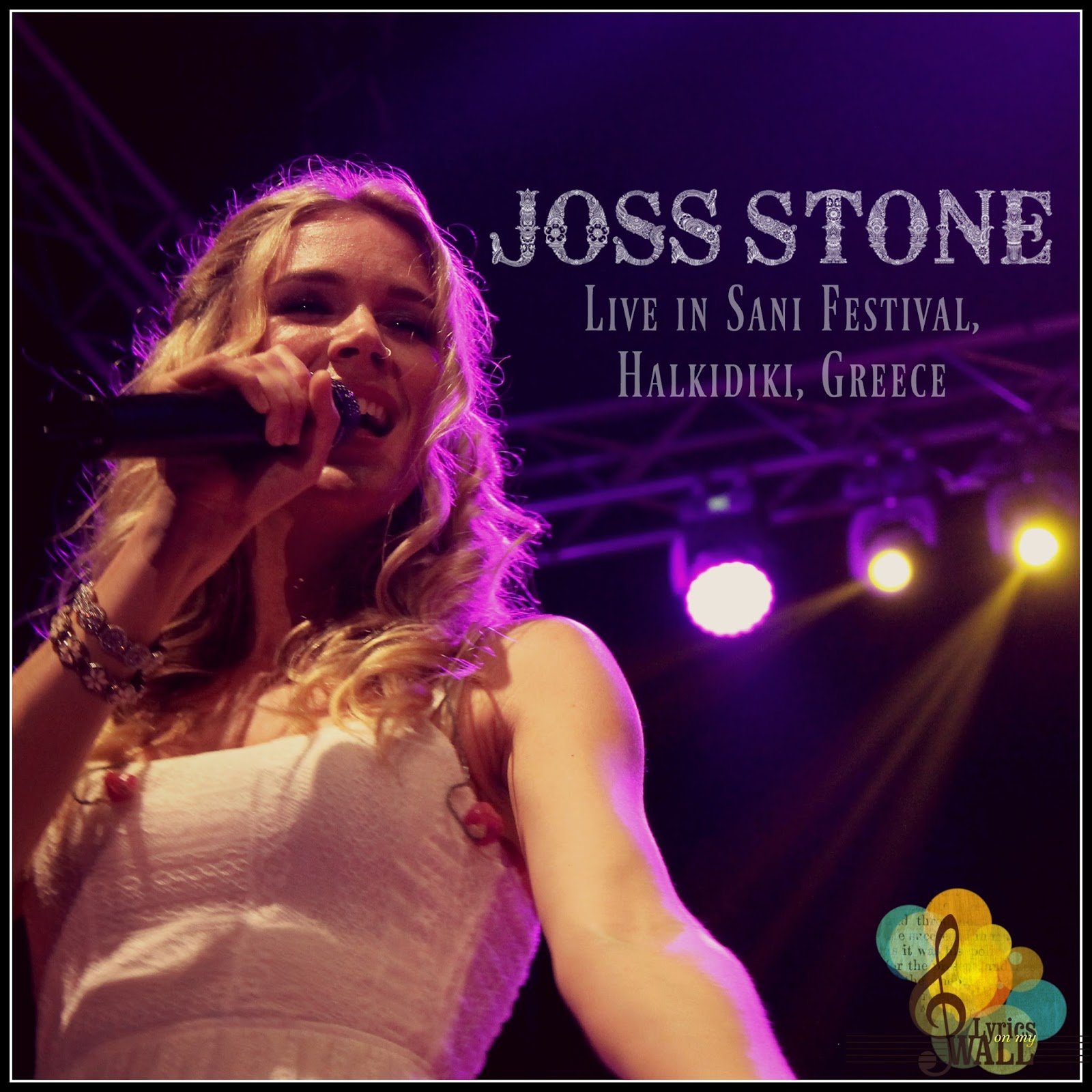 Lyrics on my wall...: LIVE REVIEW: Joss Stone