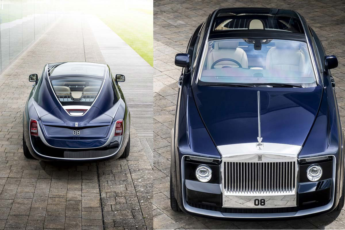 $13 million rolls-royce sweptail: world's most expensive car | car