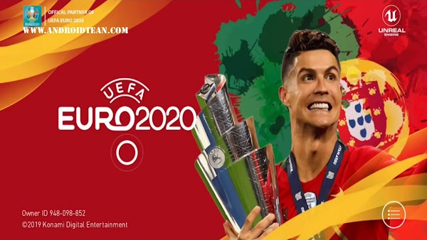 eFootball PES 2020_v4.5.0 EURO Patch Android Download