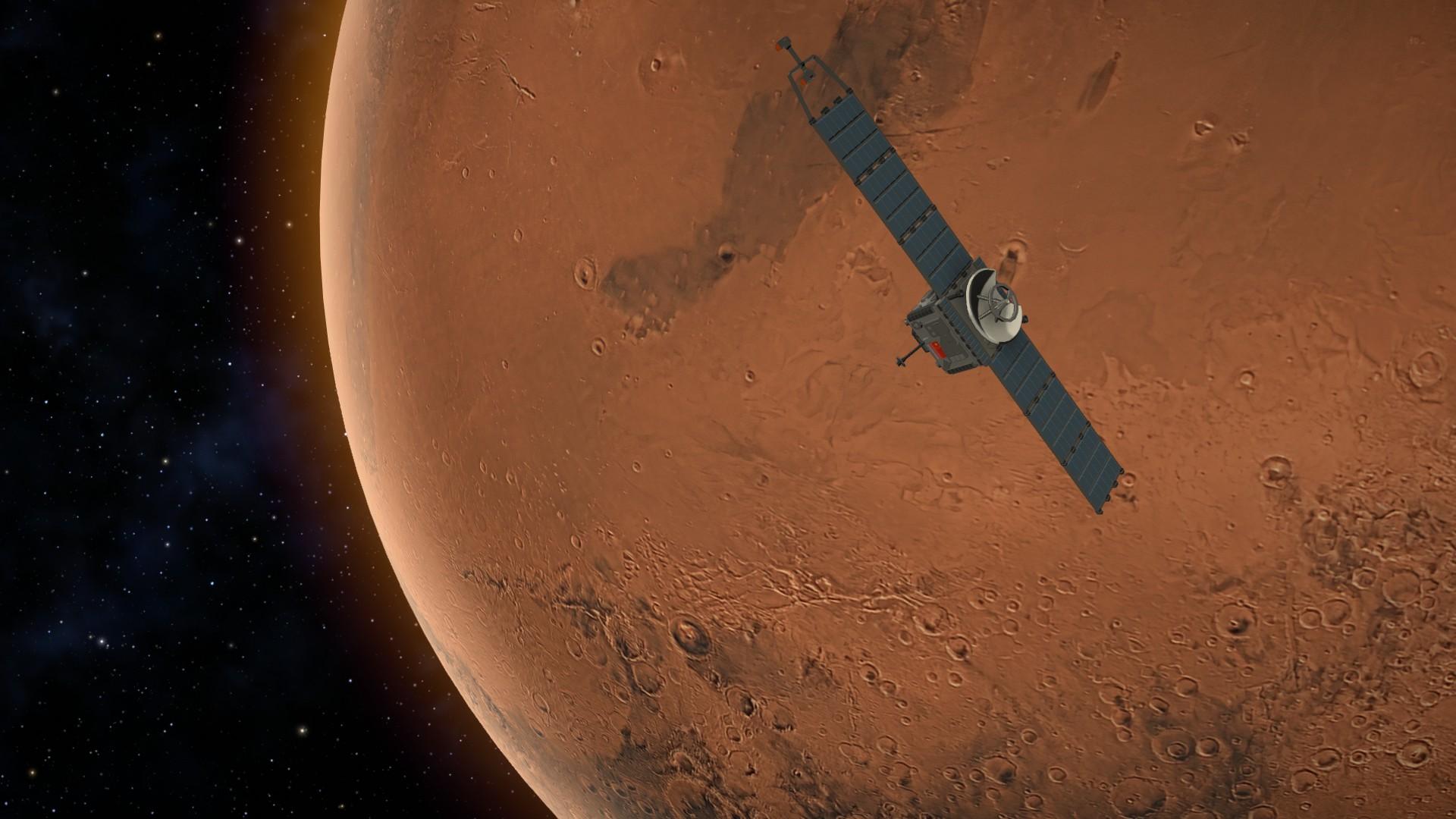 MArs Horizons Satellite Mars Orbit