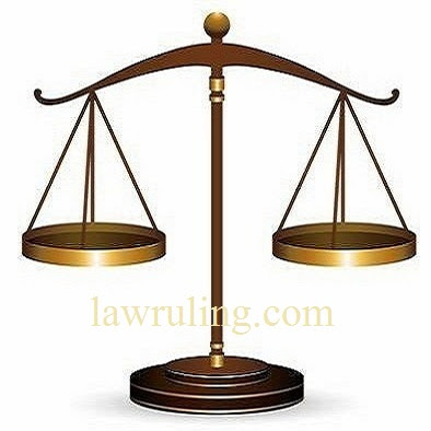 A Beam Balance Representing Equality Before Law