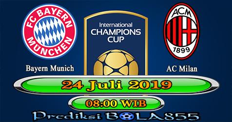 Prediksi Bola855 Bayern Munich vs AC Milan 24 Juli 2019
