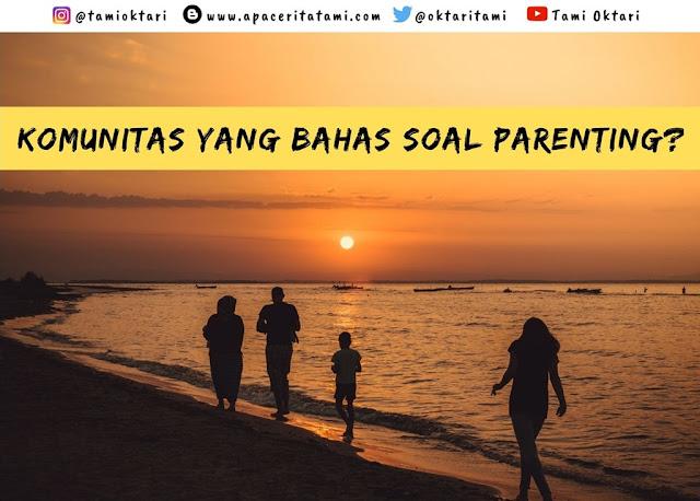 Komunitas Keluarga Popmama.com Untuk Orangtua Milenial
