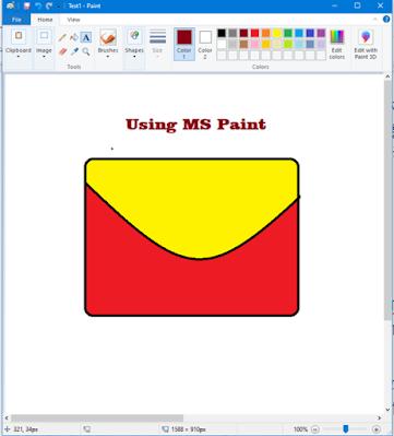 विंडोज एक्सेसरीज | माइक्रोसॉफ्ट पेंट  (MS-Paint)