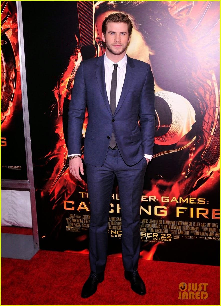 """Celeb Diary: Liam Hemsworth & Sam Claflin la premiera """"The ..."""
