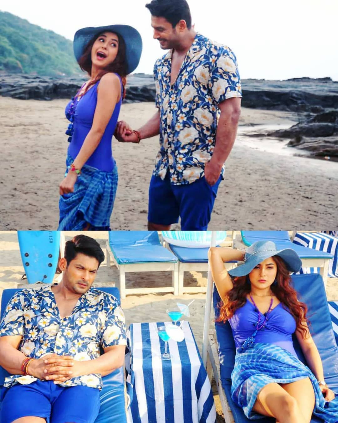 Gossips: Sidharth Shukla-Shehnaaz Gill's pictures from unreleased music video go VIRAL