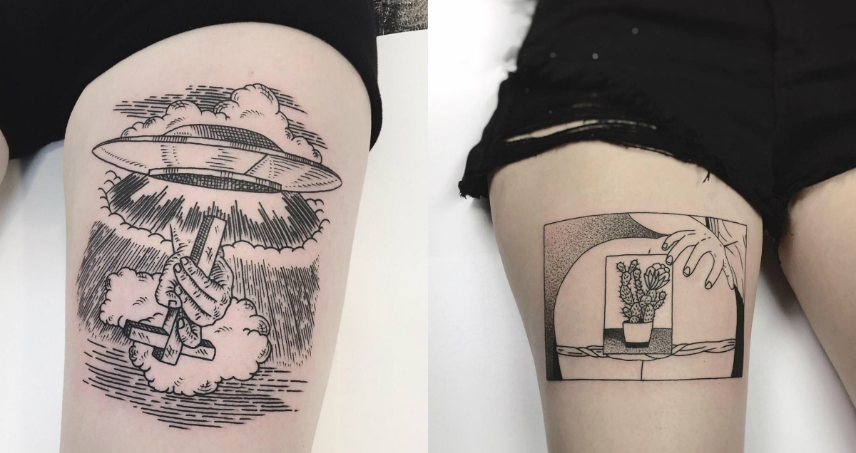 Cinematic Ink | Die von Kultfilmen inspirierten Tattoos von Charley Gerardins