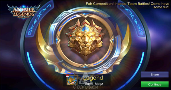8 Tips Agar Cepat Naik ke Rank Legends di Mobile Legends