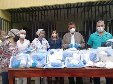 Gobernador garantiza dotación de insumos al personal sanitario en el Valle del Mocotíes