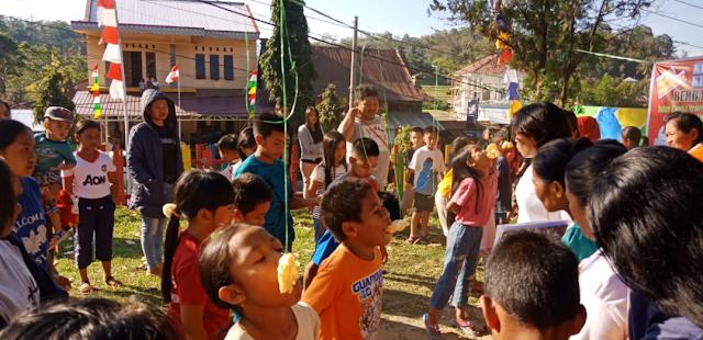 Berbagai Lomba Digelar di Kelurahan Pantan, Raesita: Kami Ingin Pererat Kekeluargaan