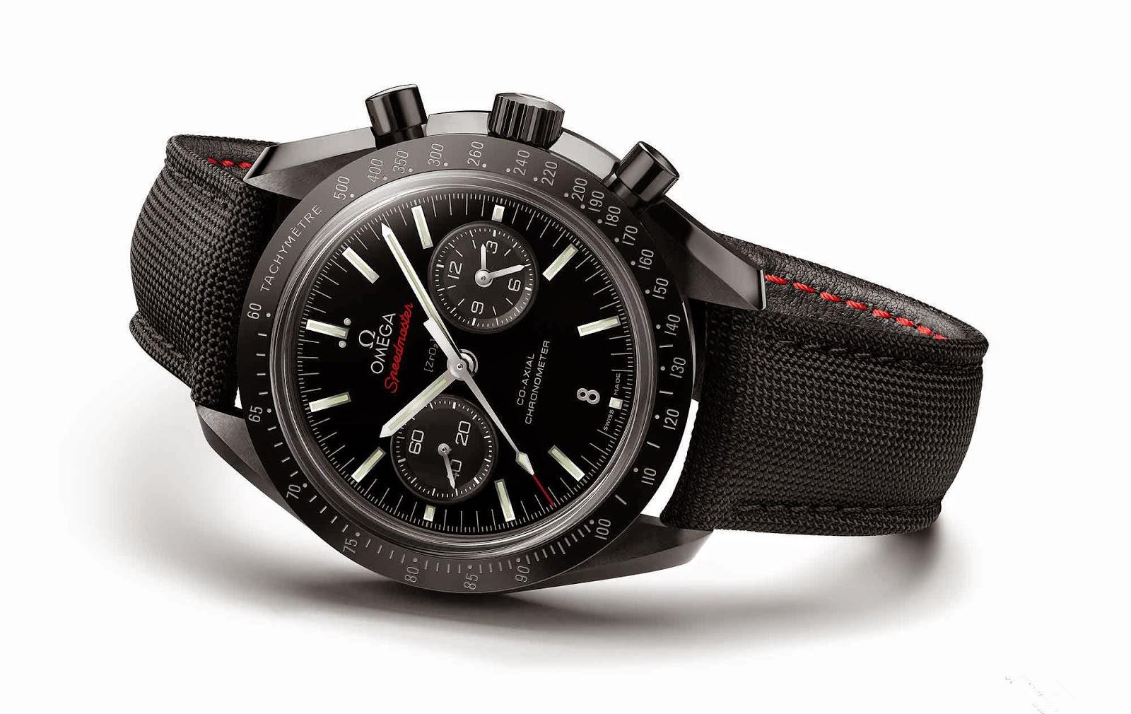 Swiss Design Watches Brand New Omega Speedmaster Black