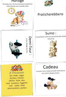 jeu conjugaison italienne
