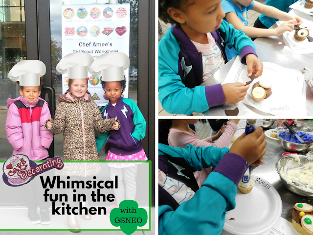 Whimiscal Fun in the Kitchen with Girl Scouts of North East Ohio