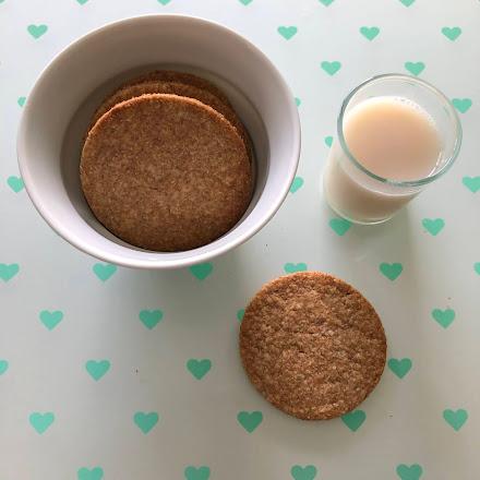 Biscuits intensément vanille avec de la Blédine