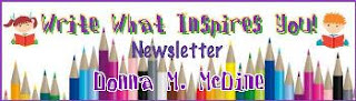 Write What Inspires You Newsletter