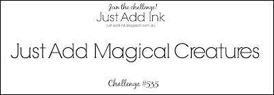 Jo's Stamping Spot - Just Add Ink Challenge #535