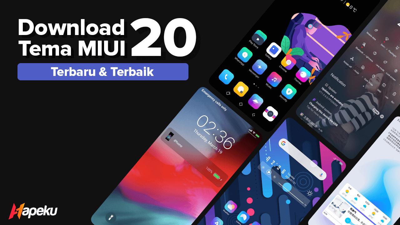 Download 20 Tema Xiaomi untuk MIUI 11 Terbaru 2021