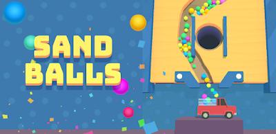 تحميل لعبة Sand Balls مهكرة للأندرويد آخر إصدار