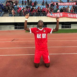 Asisat Oshoala Thankful As Her Club Side Win Chinese Women's Super League