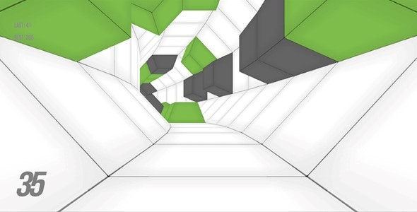 Download Contrast Tunnel Twist-unity3D With Admob Ads