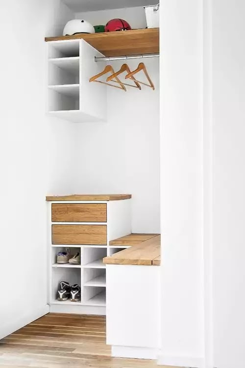 contemporary wardrobe and dressing room