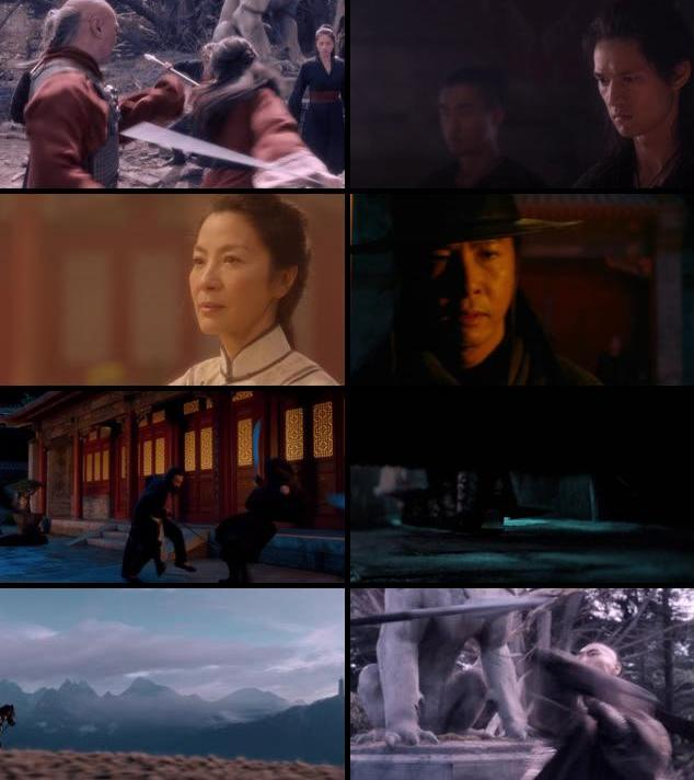 Crouching Tiger Hidden Dragon Sword of Destiny 2016 English 720p BRRip