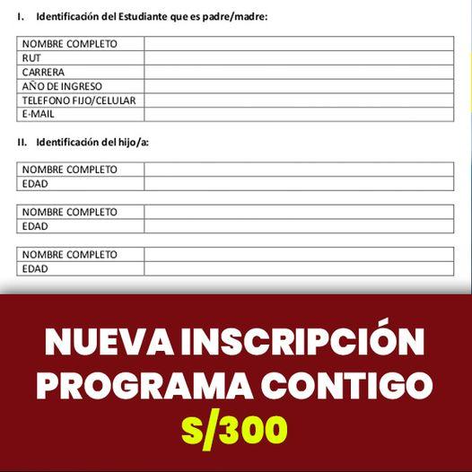 Programa Contigo S/300: Nueva INSCRIPCIÓN A La Pensión BIMESTRAL