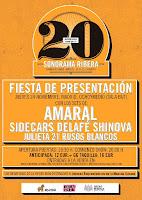 Fiesta de presentación de Sonorama Ribera 2016