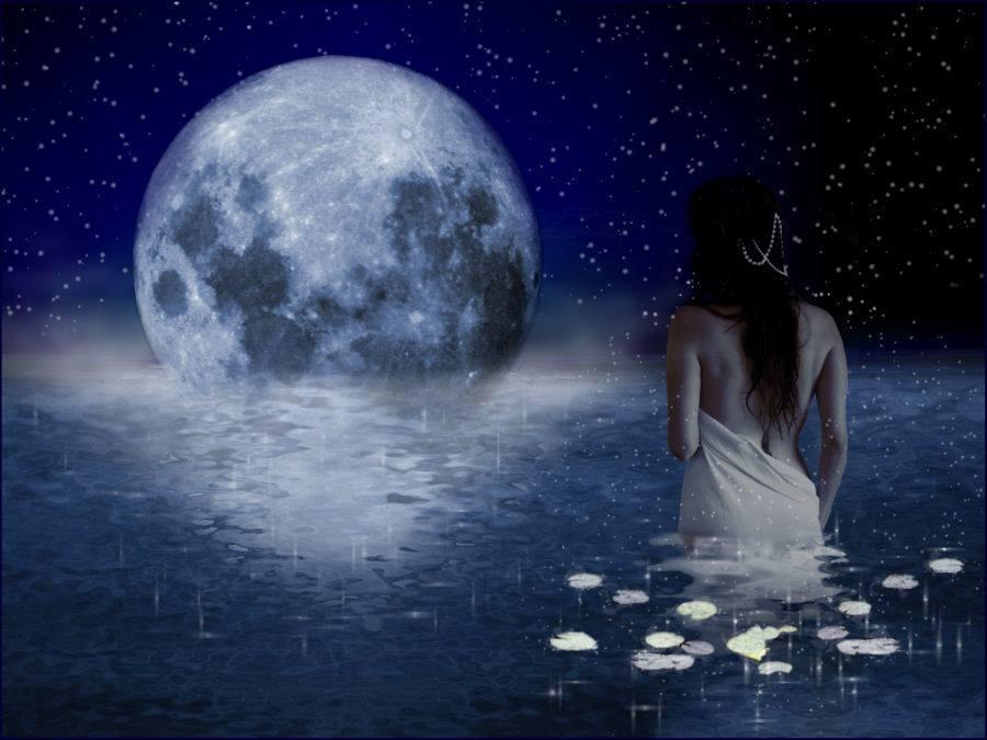 Il Mestiere Del Dare Cecilia Martino Meditare Con La Luna Piena