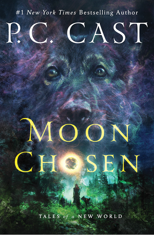 Fangs For The Fantasy: Moon Chosen (Tales of a New World #1
