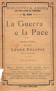 غلاف رواية الحرب والسلام - الترجمة الإيطالية