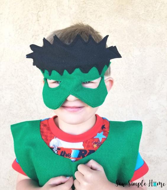 hulk mask diy