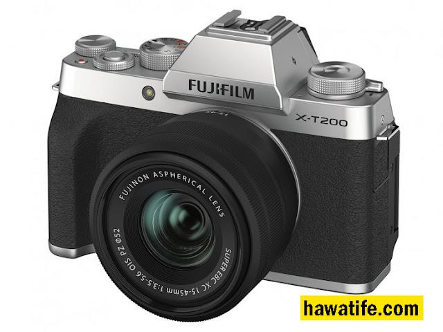 شركة Fujifilm فوجي فيلم تعلن عن كاميرا X-T200 بدون مرآة وبسعر 700 دولار