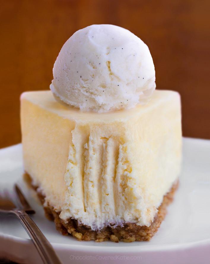 5 Ingredient Keto Low Carb Cheesecake