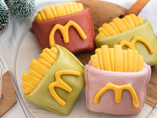 McDonald's fries Inspired Steam Buns(Baozi) For Kids